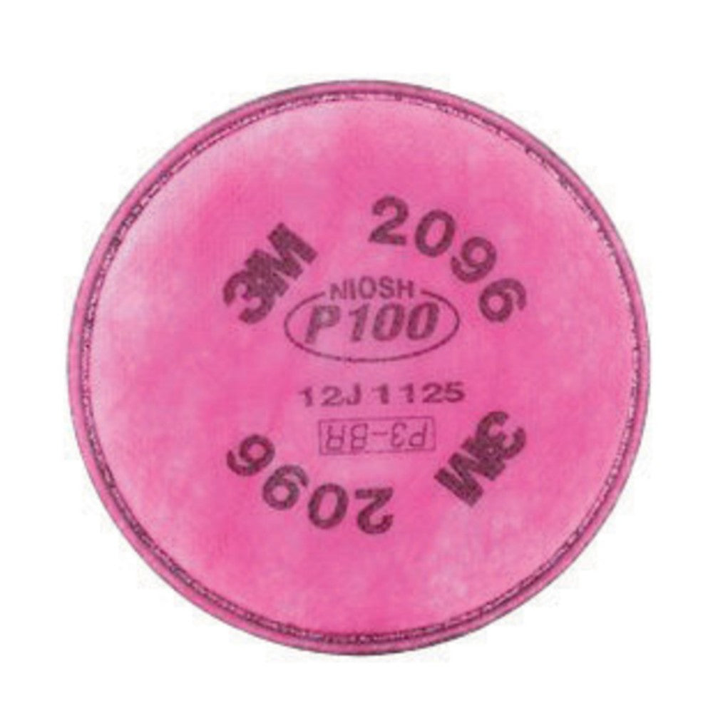 3M 2096 P100 Particulate Filter With Nuisance Level Acid Gas Relief