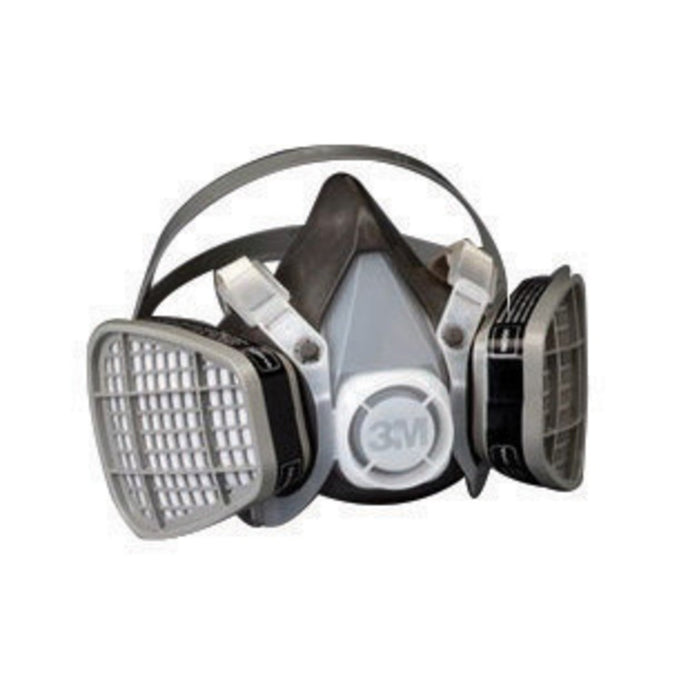 3M Large 5000 Series Half Face Disposable Air Purifying Respirator