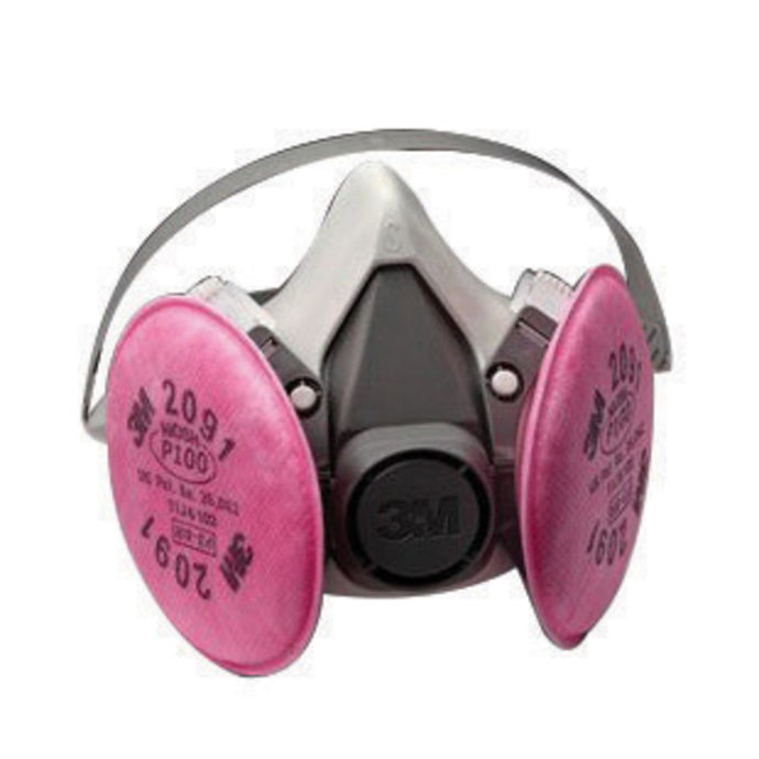 3M 6000 Series Half Face Air Purifying Respirator