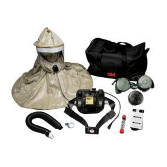 3M Universal RBE-L10 Series Full Face Air Purifying Respirator