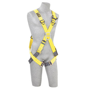 3M DBI-SALA X-Small Delta Climbing Cross Over Style Harness With Back And Front D-Rings And Pass Thru Buckle Leg Strap