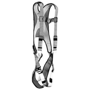 "3M DBI-SALA Large ExoFit Full Body Style Harness With (3) Vertical D-Ring With 18"" Extension And Tongue Buckle"