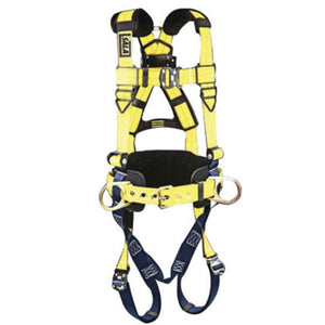 3M DBI-SALA Large Delta Arc Flash No-Tangle Full Body Style Harness With Back And (2) Front D-Ring And Pass-Thru Buckles