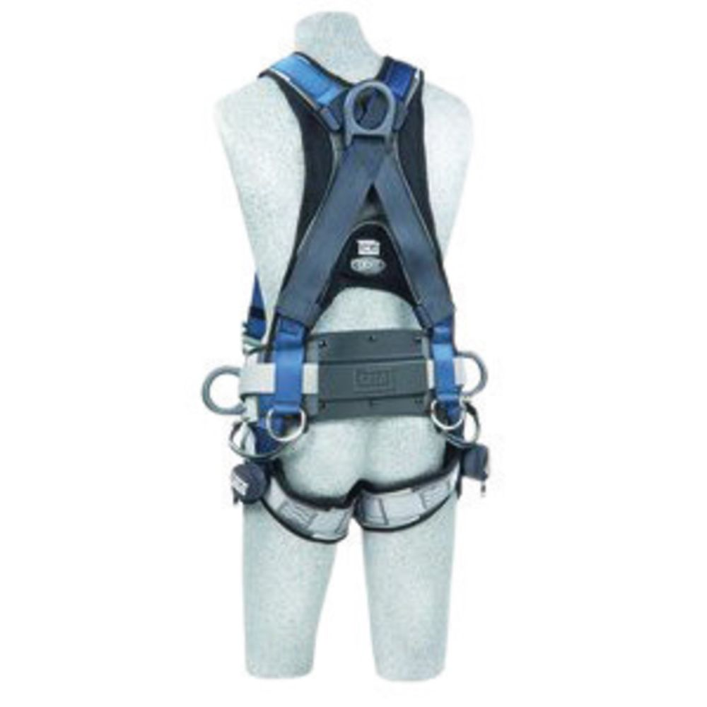 3M DBI-SALA Medium ExoFit Full Body/Vest Style Harness With Front, Back And Side D-Ring, Quick Connect Leg Strap Buckle, Sewn-in Hip Pad And Belt With Tool Loops