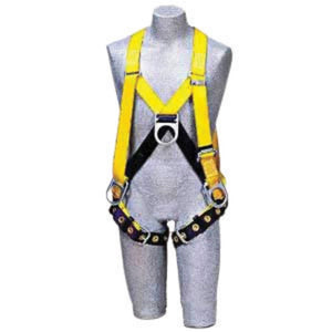 3M DBI-SALA Full Body Style Harness With Shoulder D-Ring, Pass Through Leg Strap Buckle And Tongue Buckle