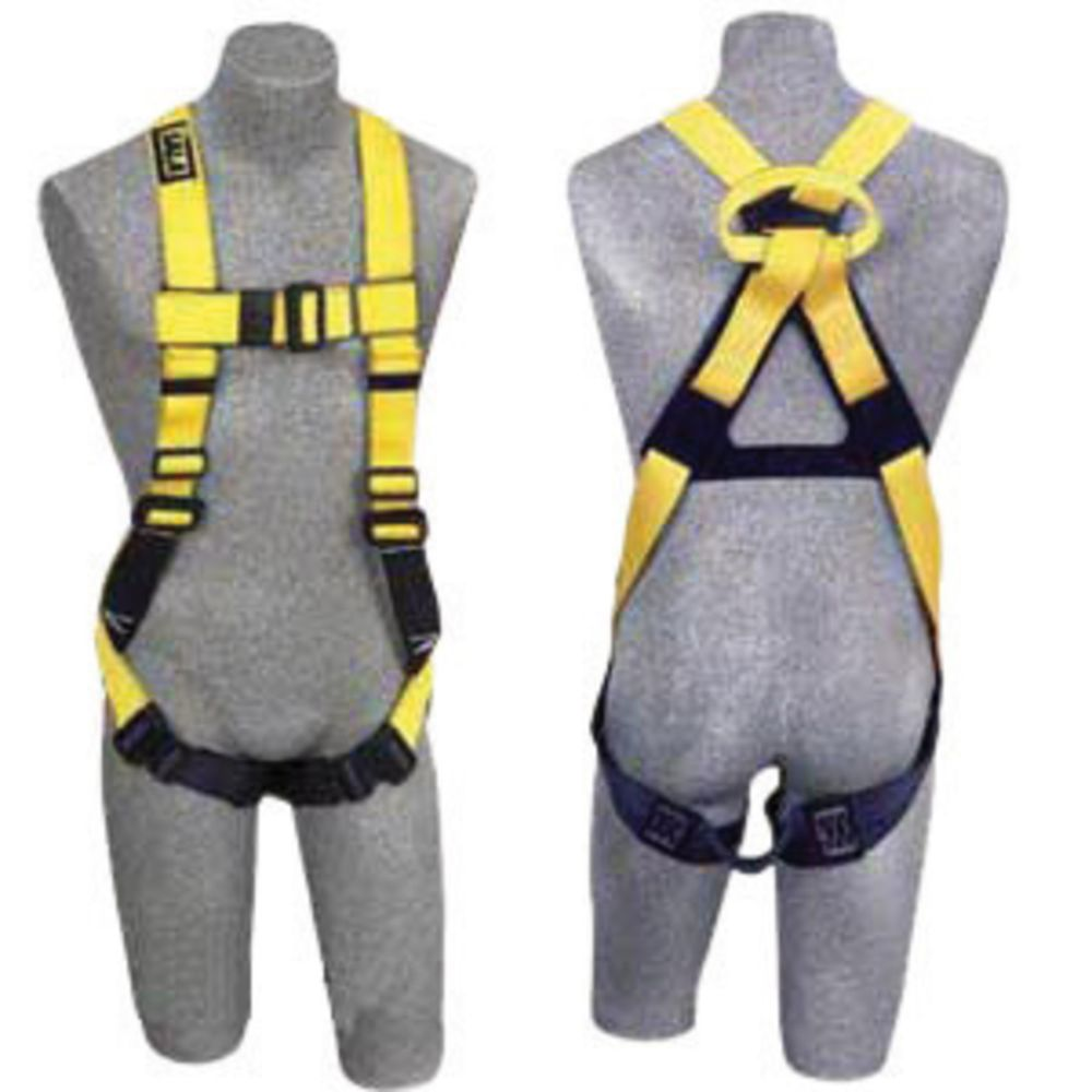 3M DBI-SALA Universal Delta II No-Tangle Full Body/Vest Style Harness With Dorsal Web Loop, Pass-Thru Leg Strap Buckle And Non-Conductive/Non-Spark Hardware