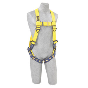 3M DBI-SALA Small Delta Full Body/Vest Style Harness With Back D-Ring And Tongue Buckle Leg Strap