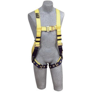 3M DBI-SALA Large Delta No-Tangle Full Body/Vest Style Harness With Front And Back D-Ring, Tongue Leg Strap Buckle And Loops For Belt