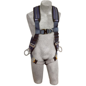 3M DBI-SALA Small ExoFit XP Positioning/Climbing Vest Style Harness With Back, Front And Side D-Rings, Quick Connect Buckle Leg Strap And Removable Comfort Padding