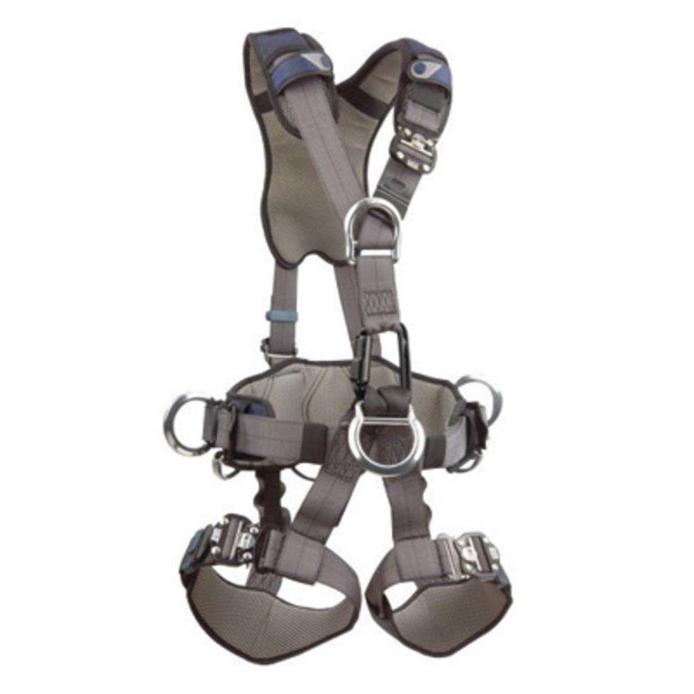 3M DBI-SALA ExoFit Full Body Style Harness With Back, Front And Shoulder D-Ring