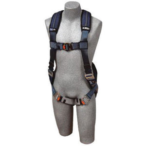 3M DBI-SALA X-Small ExoFit XP Full Body/Vest Style Harness With Back D-Ring, Quick Connect Chest And Leg Strap Buckle, Loops For Body Belt And Removable Comfort Padding