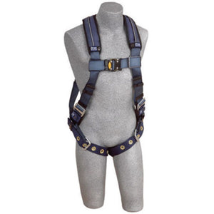3M DBI-SALA Small ExoFit XP Vest Style Harness With Back D-Ring, Tongue Buckle Leg Strap And Removable Comfort Padding
