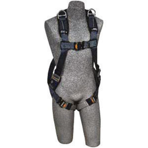 3M DBI-SALA Small ExoFit XP Vest Style Harness With Stand Up Rear And Shoulder D-Rings, Quick Connect Buckles, Loops For Belt And Removable Padding