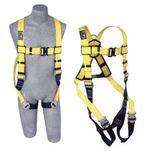 3M DBI-SALA X-Large Delta II Vest Style Harness With Back And Side D-Rings And Quick Connect Buckle Leg Strap