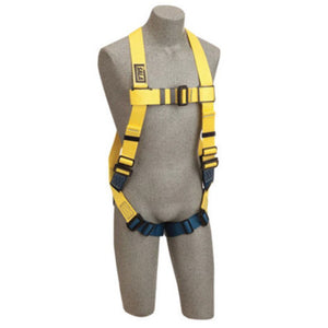 3M DBI-SALA Universal Delta Arc Flash No-Tangle Full Body/Vest Style Harness With PVC Coated Back D-Ring And Pass-Thru Leg Strap Buckle