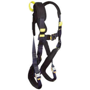 3M DBI-SALA Small ExoFit XP Arc Flash Harness With PVC Coated Back And Side D-Rings, Tongue Buckle Belt, Quick Connect Nomex/Kevlar Pad And Rescue Loops