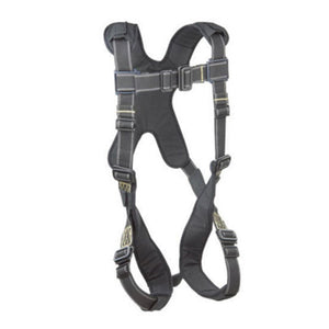 3M DBI-SALA Large ExoFit XP Arc Flash Full Body/Vest Style Harness With Back D-Ring, Pass-Thru Leg Strap Buckle And Comfort Padding