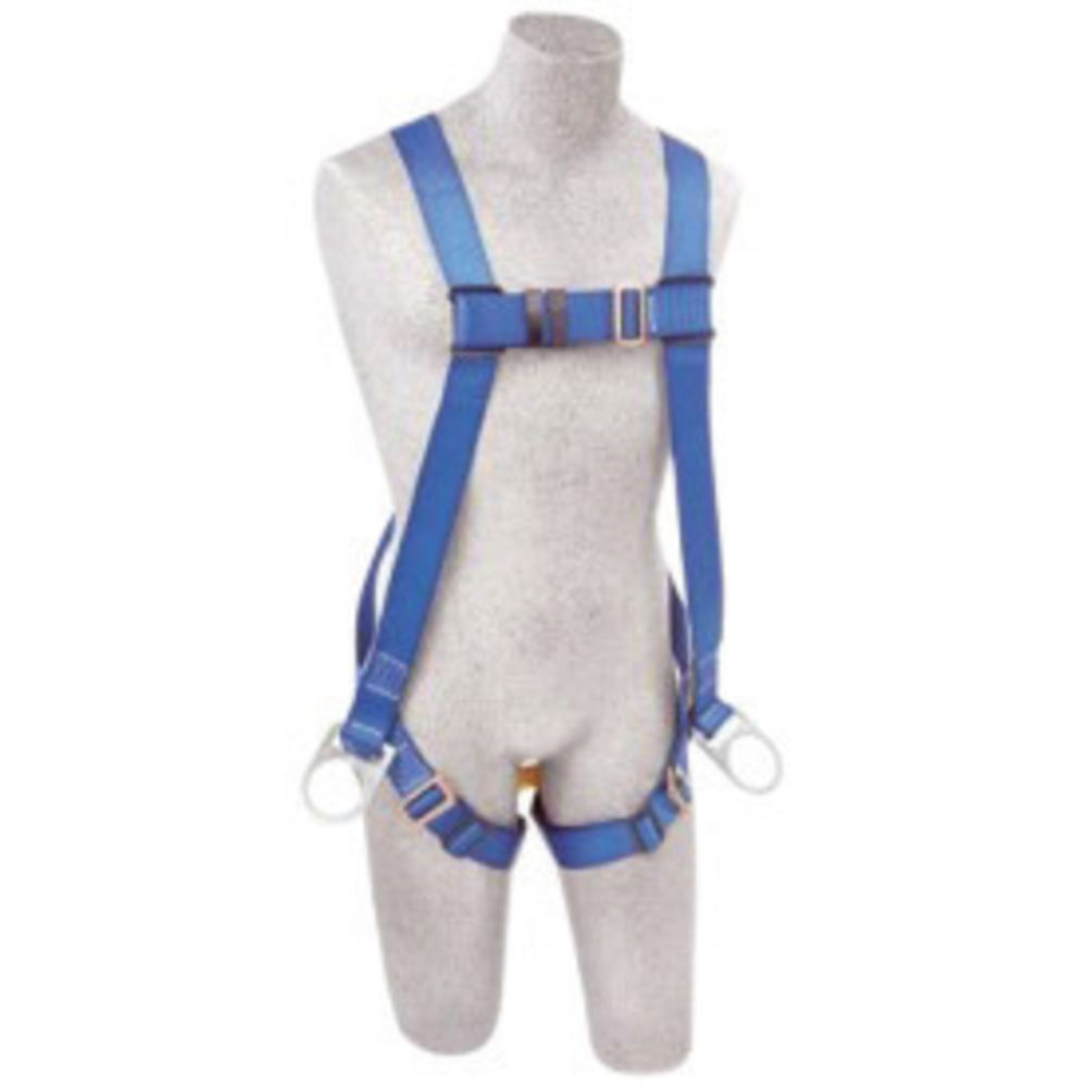 3M DBI-SALA Universal PROTECTA FIRST Full Body Style Harness With Back And (2) Side-Hip Positioning D-Ring And Pass-Thru Buckle Leg
