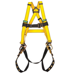MSA Super X-Large Workman Full Body Style Harness With Qwik-Fit Chest And Leg Strap Buckle, Back And Hip D-Ring