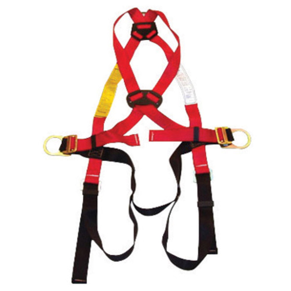 MSA X-Large EVOTECH Full Body Style Harness With Qwik-Fit Chest And Leg Strap Buckle And Back D-Ring