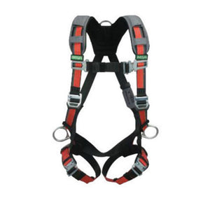 MSA X-Large EVOTECH Full Body Style Harness With Qwik-Connect Chest And Leg Strap Buckle, Back, Hip And Chest D-Ring, Shoulder And Leg Padding