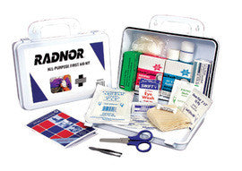 Radnor Water-Resistant Plastic First Aid Kit