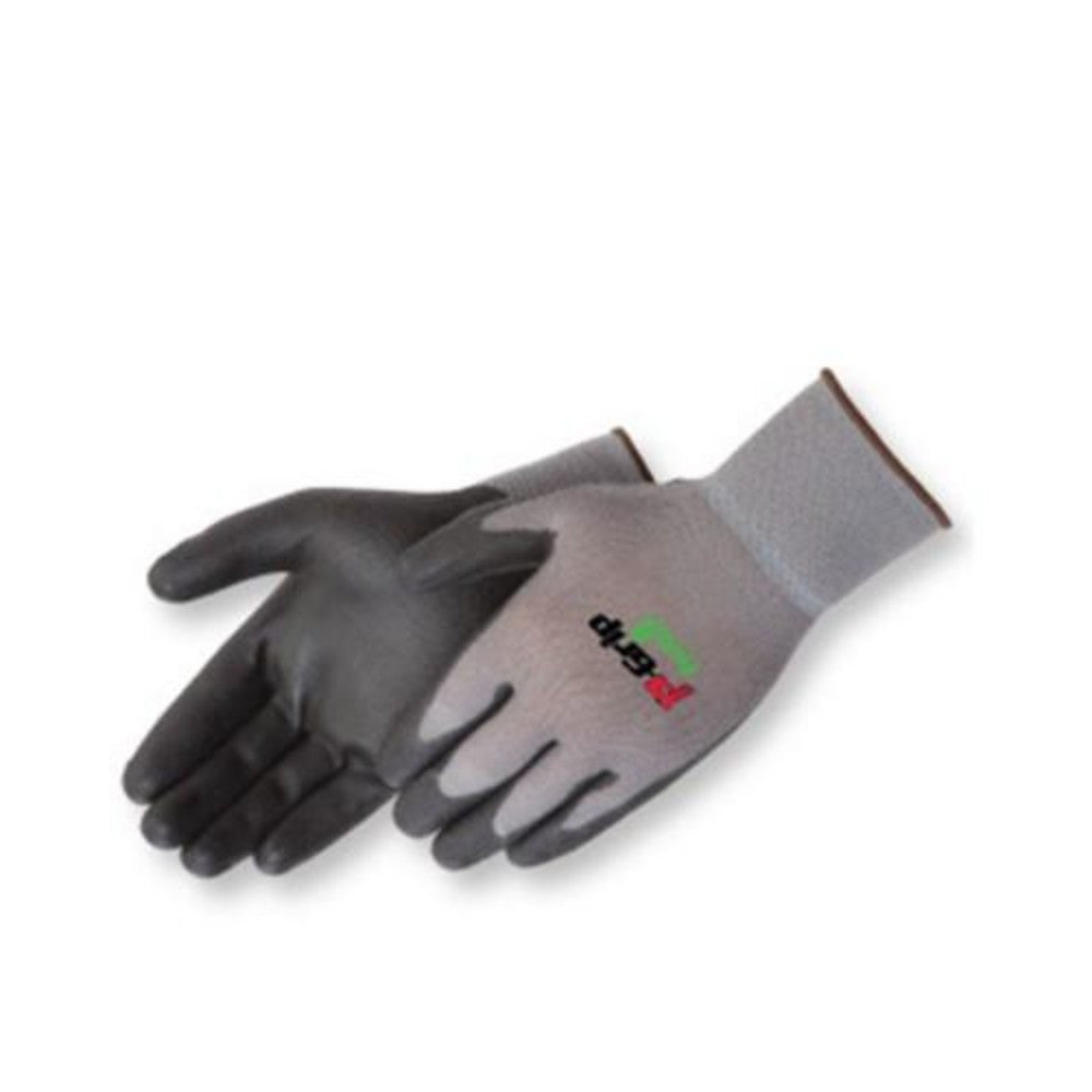 Q-Grip Black polyurethane - gray shell Gloves - Dozen