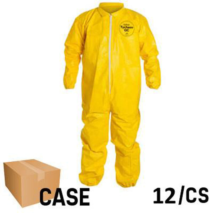 DuPont - Tychem Coverall with Elastic Wrist and Ankle - Case