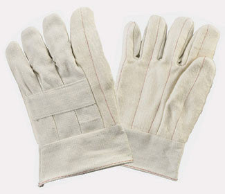 Dozen White Hotmill Working Gloves