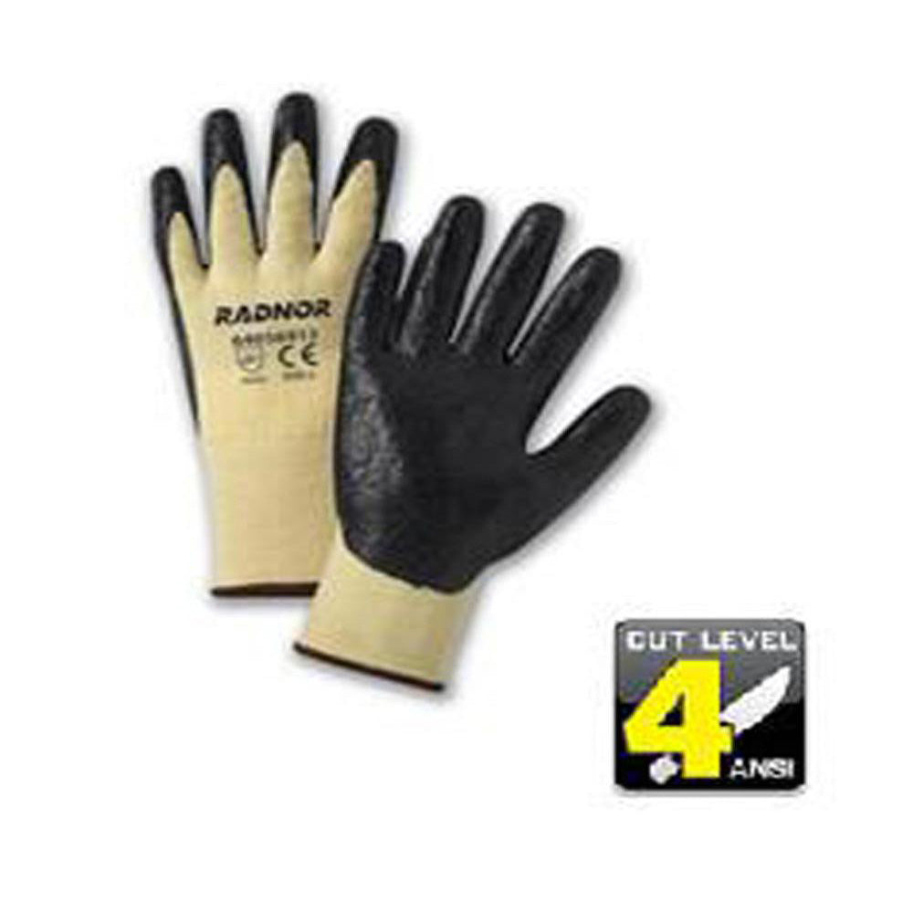Radnor - Nitrile Coated Gloves with DuPont Kevlar/Lycra Fiber