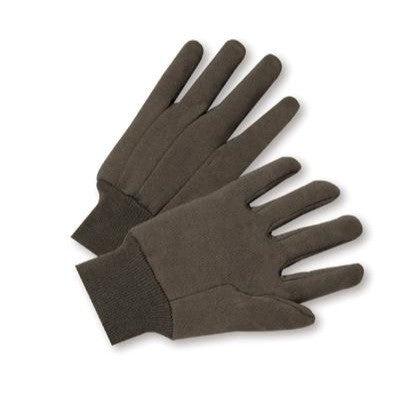 Brown Jersey Work Gloves