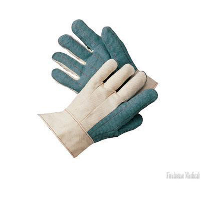 24 oz Heavy-Weight Hot Mill Gloves-Green