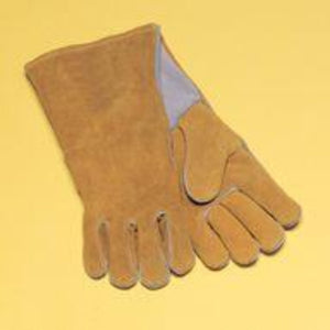 "Radnor Large Brown 14""Cowhide Welders Gloves"