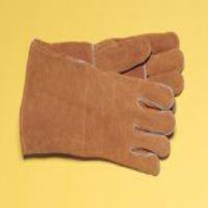 "Radnor 14"" Split Cowhide Cotton Welders Gloves"