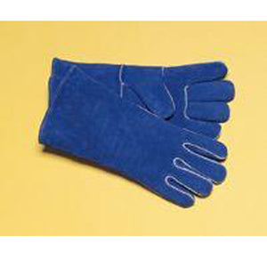 "Radnor Ladies Blue 12"" Insulated Welders Gloves"