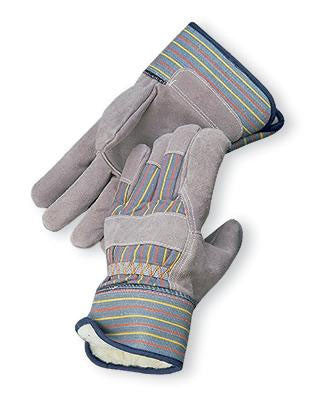 Radnor Pile Lined Cold Weather Gloves With Safety Cuffs