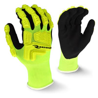 RADIANS- RWG21 HI-VIZ WORK GLOVE WITH TPR