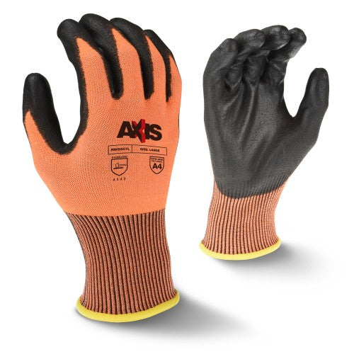 RADIANS- RWG557 AXIS HIGH TENACITY NYLON LEVEL A4 CUT PROTECTION GLOVE