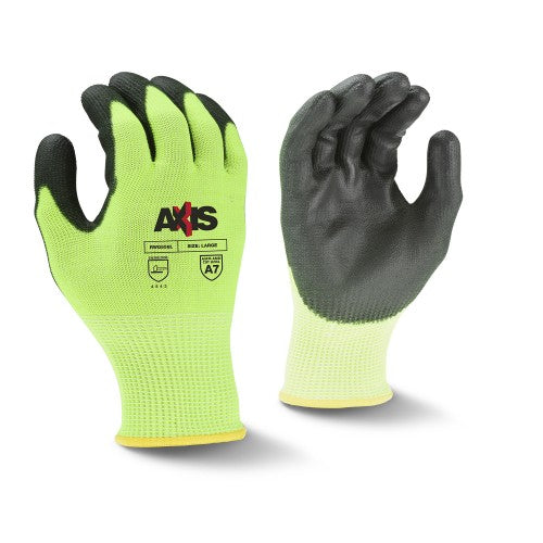 RADIANS- RWG558 AXIS CUT PROTECTION LEVEL A7 PU COATED GLOVE
