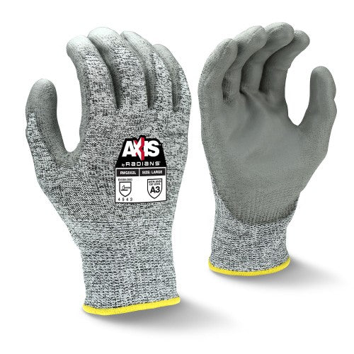 RADIANS- RWG562 AXIS CUT PROTECTION LEVEL A3 PU COATED GLOVE