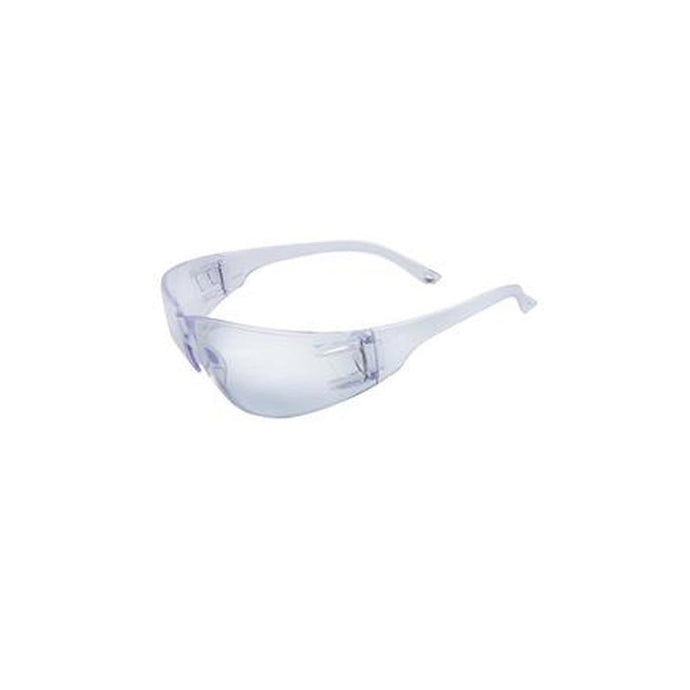 Radnor® Classic Series Safety Glasses With Clear Frame And Clear Polycarbonate Anti-Scratch Lens