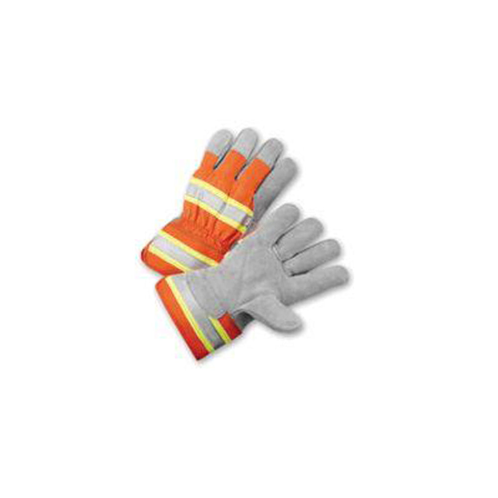 Radnor High Visibility Palm Work Gloves