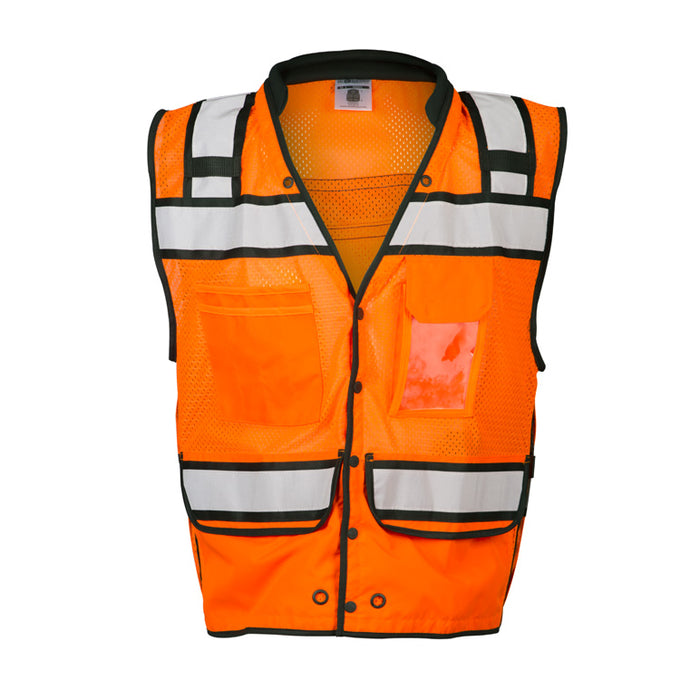 ML Kishigo -High Performance Surveyors Vest - Snap Front Closure