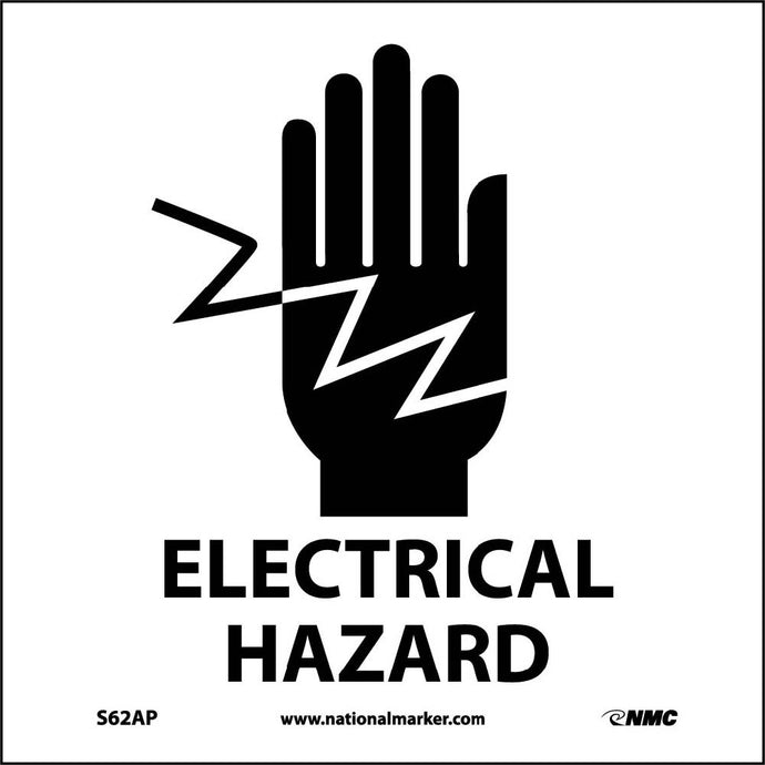 Electrical Hazard Label - 5 Pack
