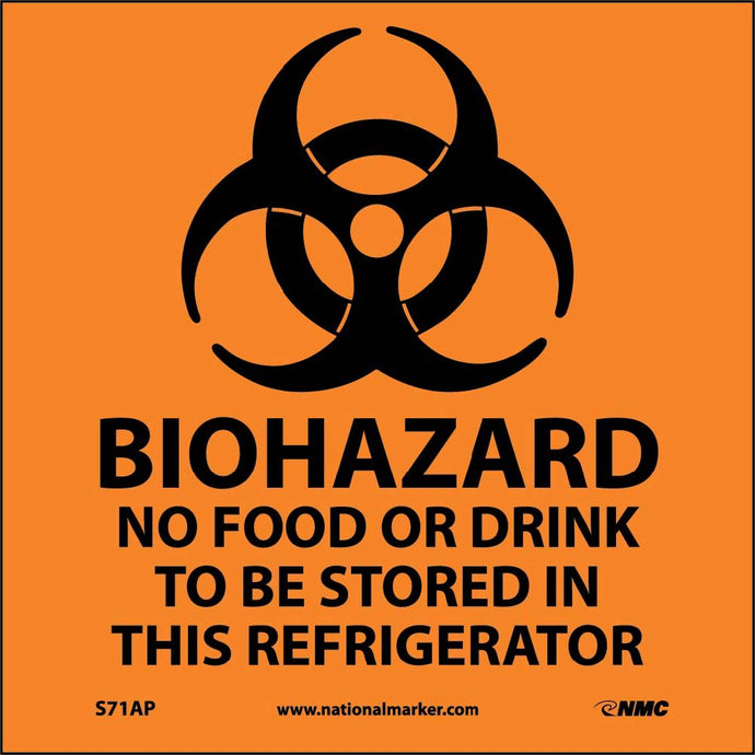 Biohazard Label - 5 Pack