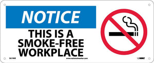 Notice This Is A Smoke-Free Workplace Sign