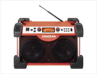 Sangean-FM / AM / Aux-in Ultra Rugged Radio Receiver