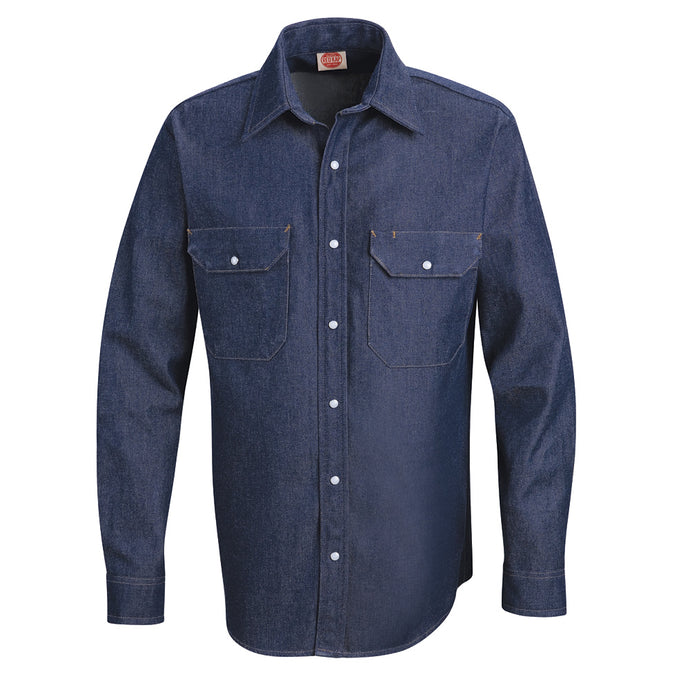 Red Kap Men's Deluxe Denim Shirt