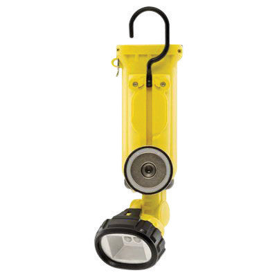 Streamlight Yellow Knucklehead Rechargeable Work Light With Charger/Holder And 120V AC/DC Cords