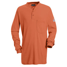 Load image into Gallery viewer, Bulwark - Long Sleeve Tagless Henley Shirt - EXCEL FR